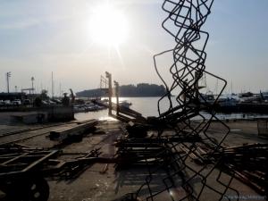 Shipyard at Rovinj