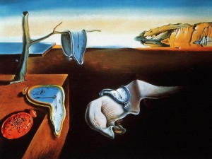 'The Persistence of Memory' by Salvador Dali