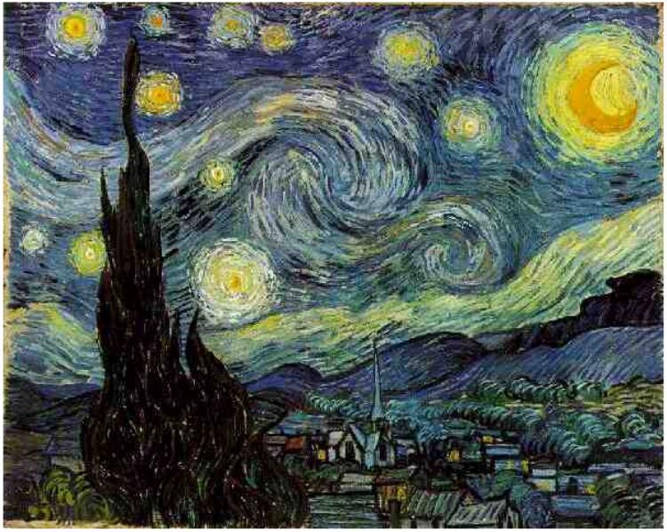 'Starry Night' by Vincent van Gogh