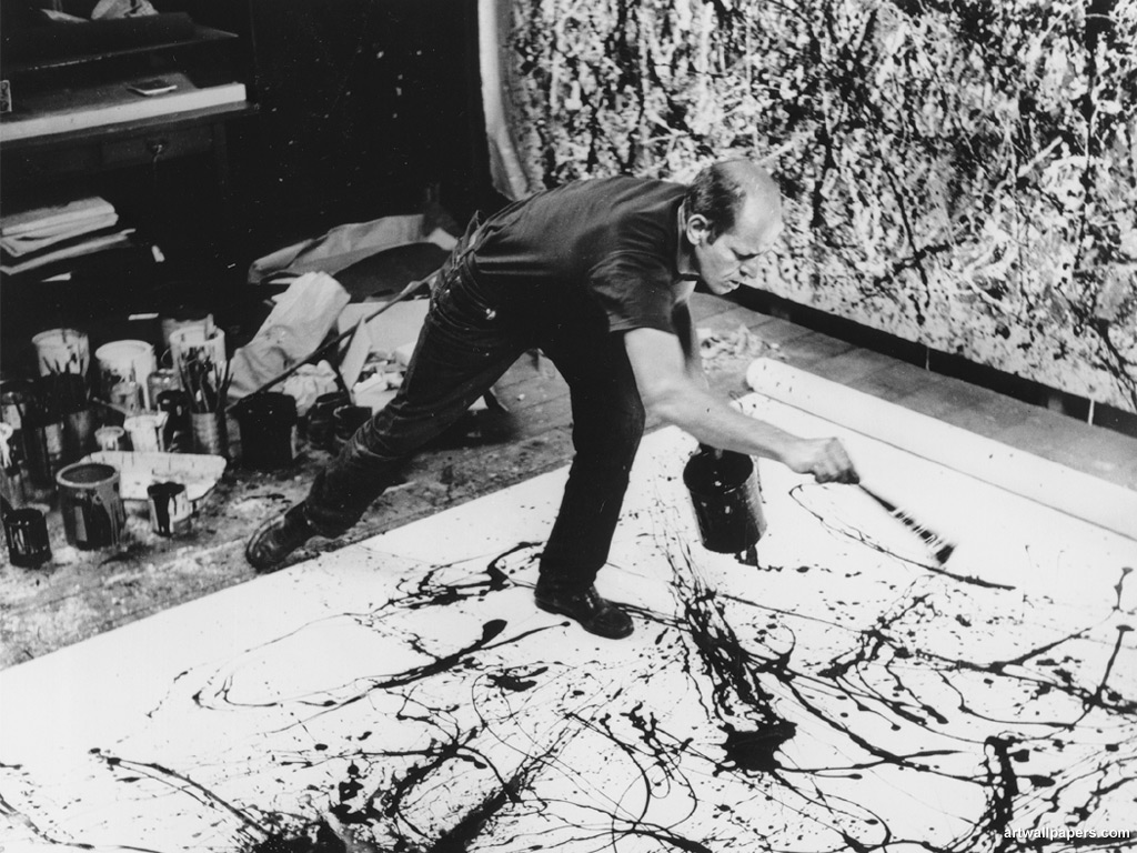 Jackson Pollock - His Painting in Action
